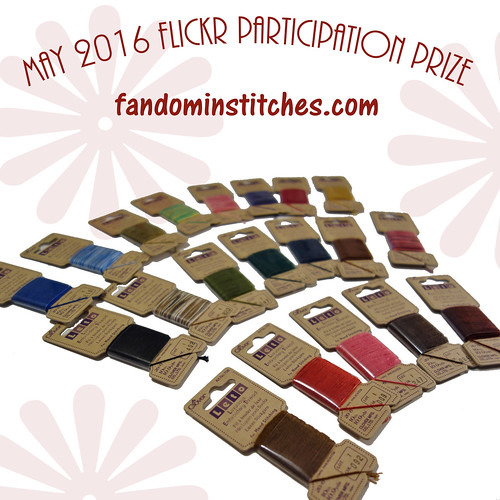 fandominstitches.com May Flickr Participation prize