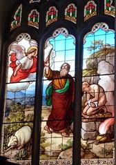 Cambridge - Peterhouse College Chapel, Stained Glass Windows