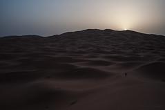 Amanecer en el desierto Marroquí