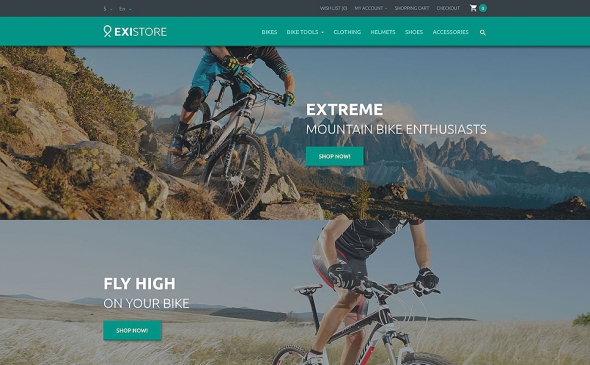 Existore - OpenCart 2.0.1.1 Template