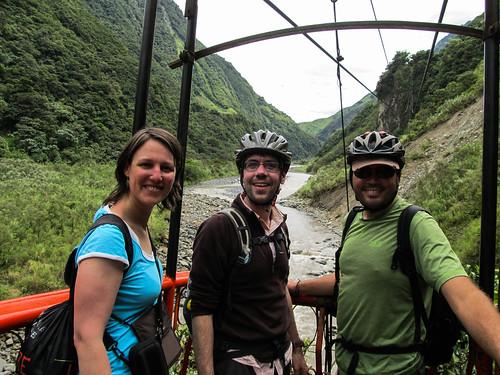 Baños: la Ruta de las Cascadas à vélo
