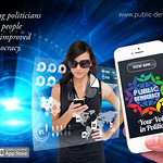 Meet the cutting edge mobile app about to change how we do democracy. Public-Democracy. Download the App, register and log-in. Have your say. Be heard by your representative. A direct line in real time.
