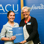 ACUscholarship2016-172 Zoe Otto and Prof. Karen Flowers