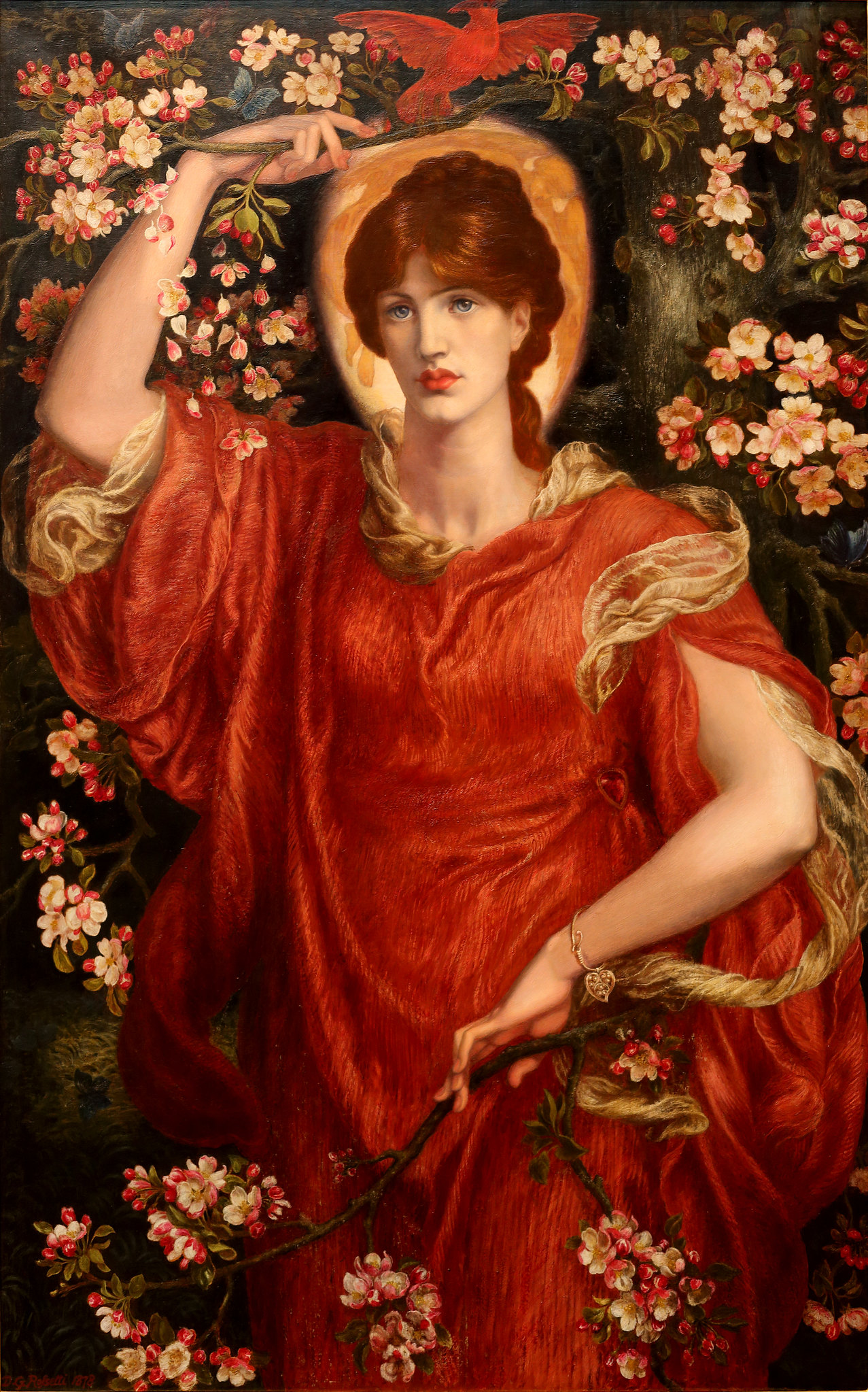 A Vision of Fiammetta by Dante Gabriel Rossetti, 1878