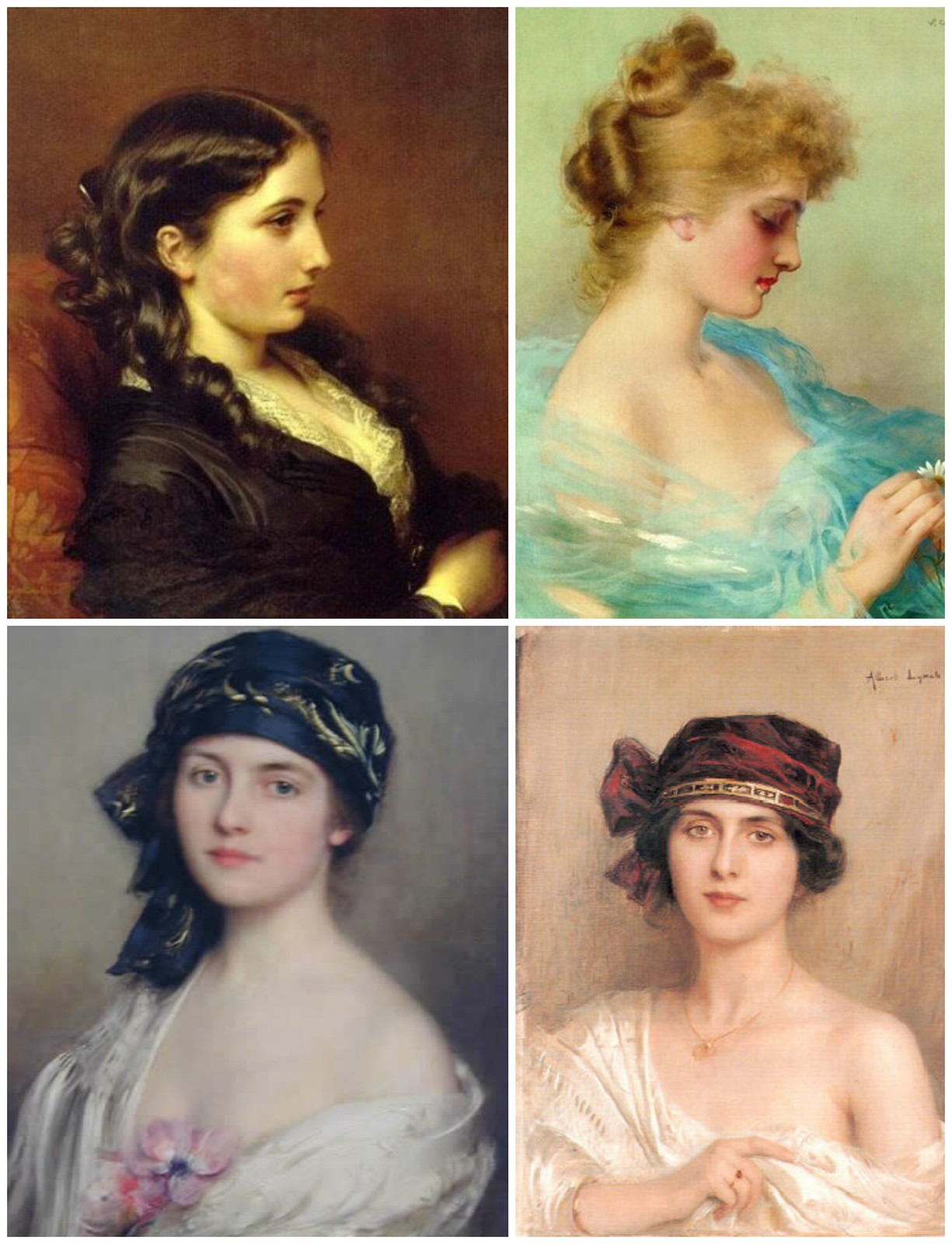 Other paintings of society women from Albert Lynch
