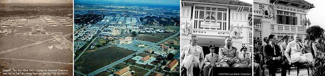 Trung tâm Hành quân - Bộ Tổng Tham Mưu QLVNCH - Trại Trần Hưng Đạo (thời Pháp là Camp Chanson)