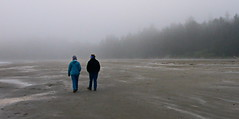 Walking in Tofino