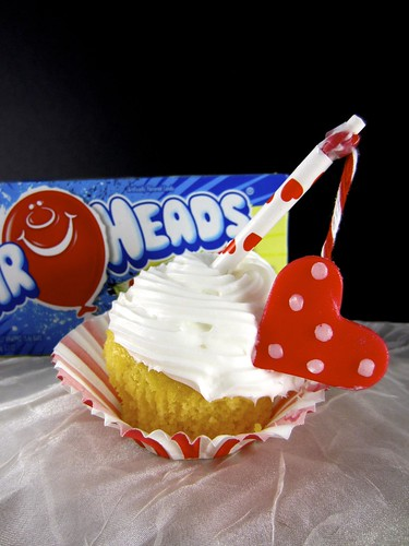 Airhead cupcake toppers