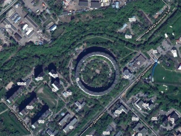 Снимок с maps.google.com
