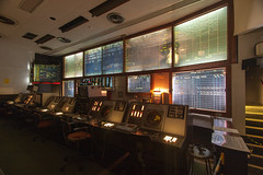 Control room at RAF Neatishead Norfolk