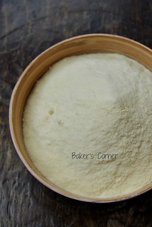Semolina flour (semola rimacinata di grano duro)