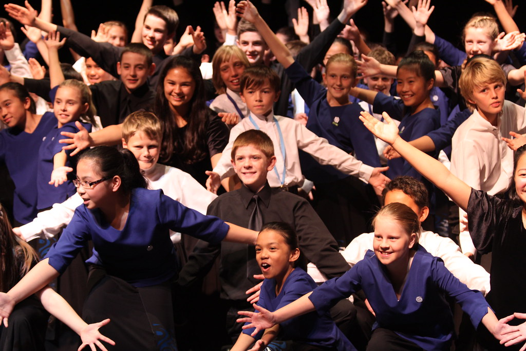 Colorado Children's Chorale with Auckland Boys and Girls Choirs