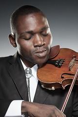Galf Diasonama, Violinist - Kimbanguist Symphony Orchestra