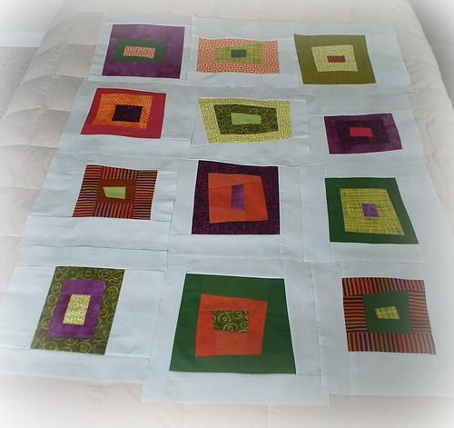 Teresa's quilt so far