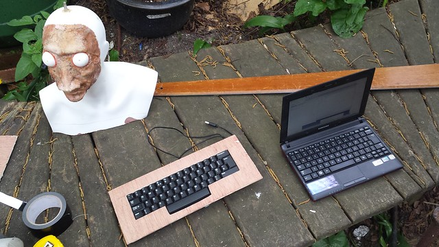 Fortune Teller keyboard mount