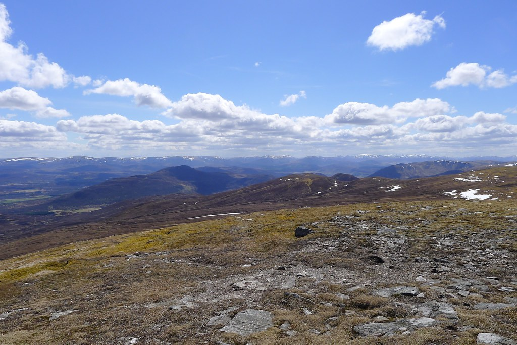 Central Highlands from A' Chailleach