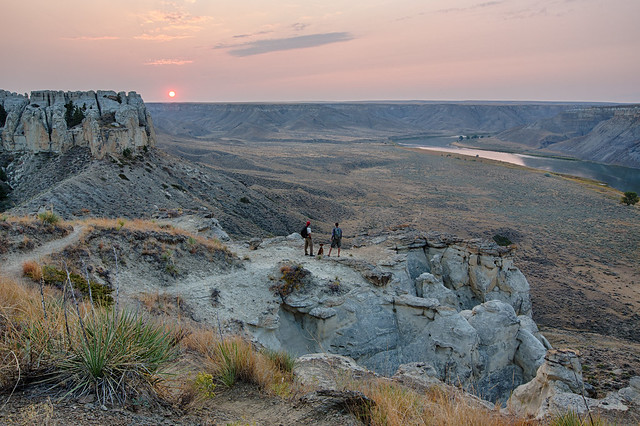 upper missouri big breaks national monument