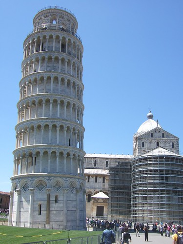 Leaning Tower. Holy Crap.