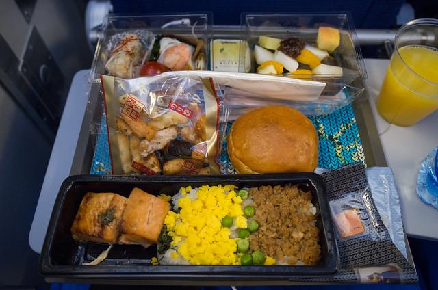 KLM KL868 機内食
