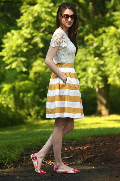 Lace, Stripes & Floral