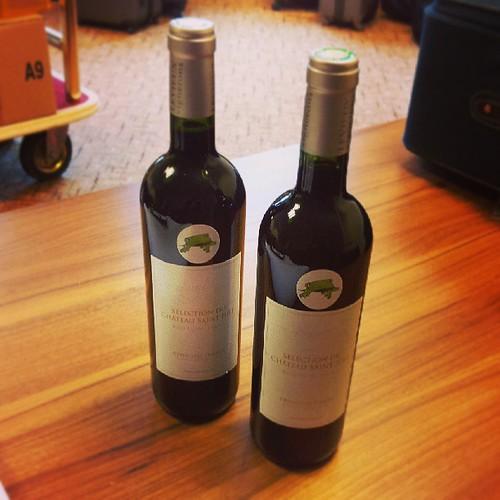 お土産にワインもらった!