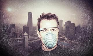 戴着 Google 眼镜游北京