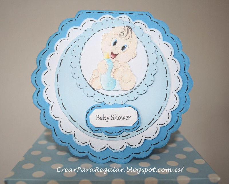 Tarjeta Baby Shower Niño