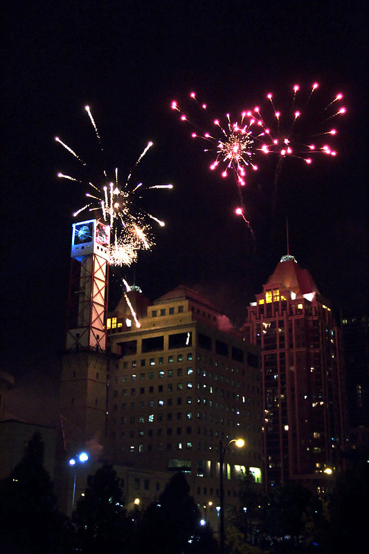 Fireworks @ Celebration Square
