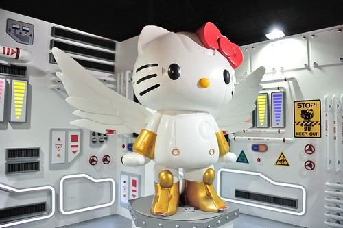 有翅膀的Robot Kitty