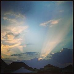 Levé de soleil Aubois.