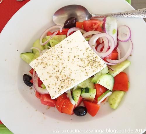 Restaurant Faros - Salat
