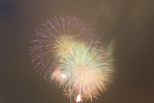 the 28th Kanagawa Shimbun Fireworks Festival 18