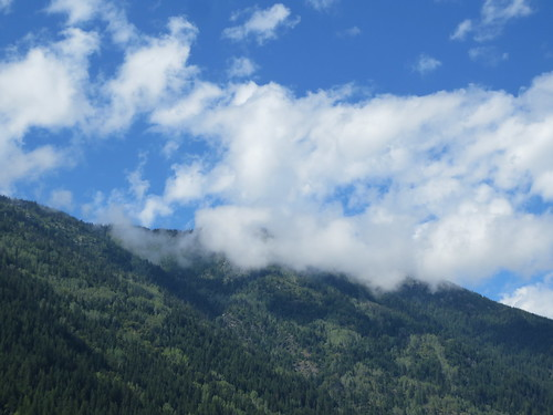 sky mountain canada clouds bc nelson columbia british kootenays