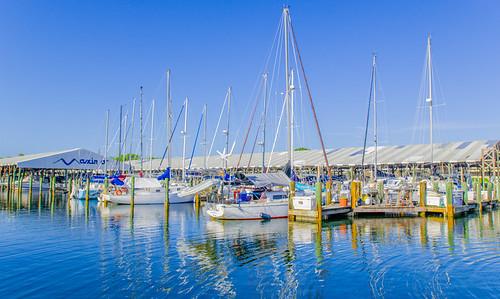 Sailboats at Maximo Marina, #StPete #Florida