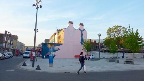Depford High Street Street Art width=