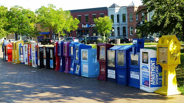 Newspaper Boxes