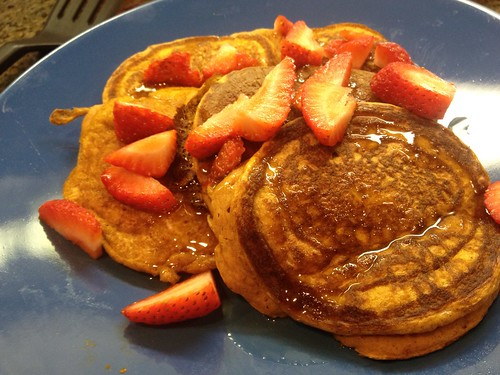 Let's have pumpkin pancakes for Labor Day