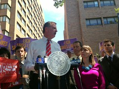 De Blasio & Community Mark End of Ambulance Diversion at L.I.C.H.