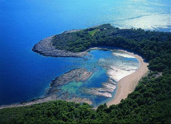Mljet - Playa de Saplunara