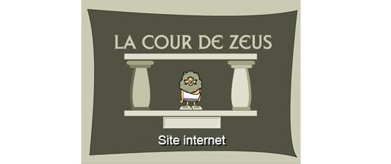 La cour de Zeus