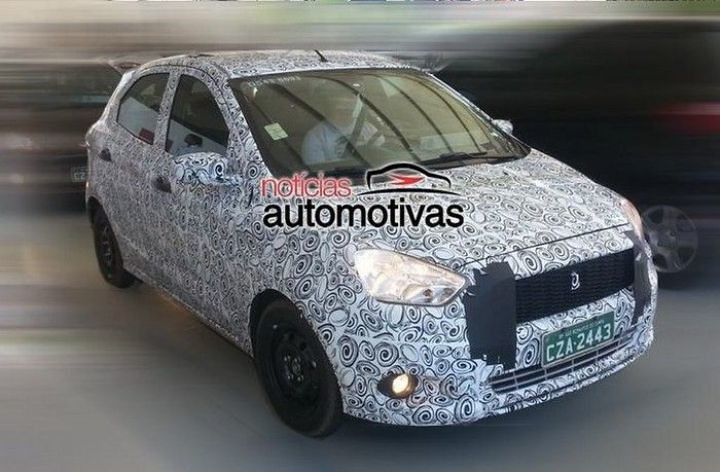 2014 Ford Figo Spy Shot 1