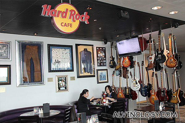 Hard Rock Cafe at Changi Airport Terminal 3