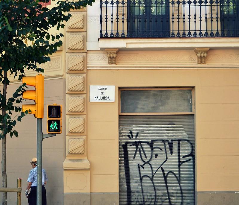 esquina en Barcelona