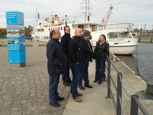 Flensburger zu Besuch in Harburg