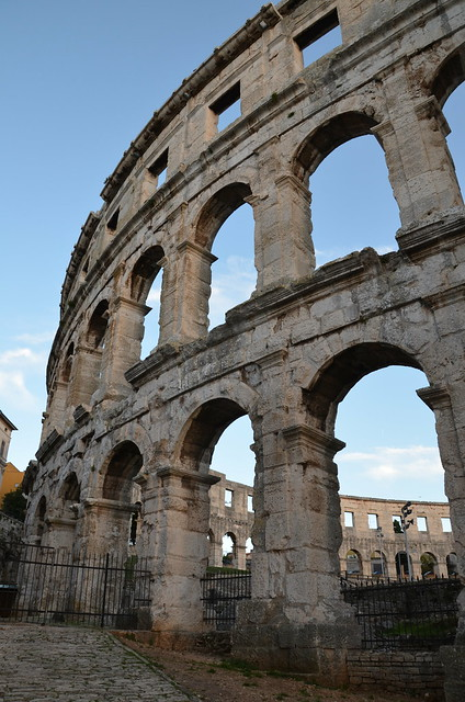 Pula Arena, Roman Amphitheatre, Colonia Pietas Iulia Pola Pollentia Herculanea, Histria