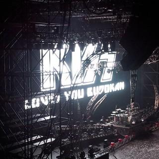 最高でした! #KISS #武道館