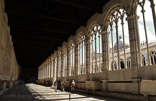 Arquería del Campo Santo, en Pisa