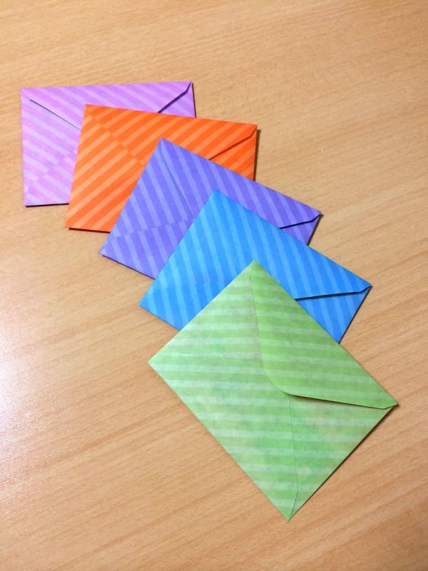 ハートシールおすそ分け封筒3