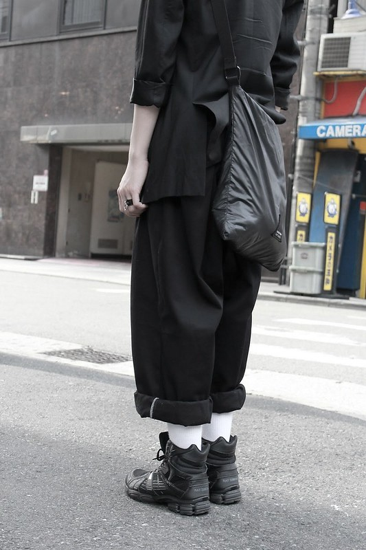 Raf - Raf Simons Runners pants shirt and bag