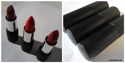 Red Apple Lipsticks in Reddish Fetish Red and Ravishing